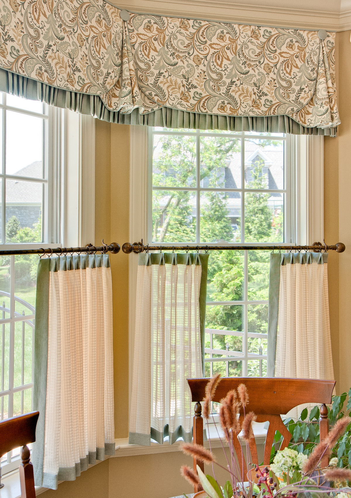 Dining Room Cafe Curtains
