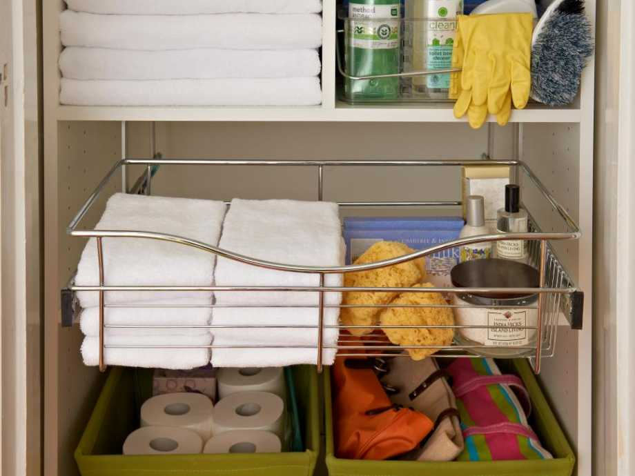 Organize Cleaning Rags