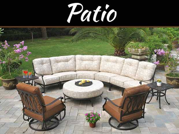 Outstanding Ways To Decorate Patio In Arabian Ranches Dubai