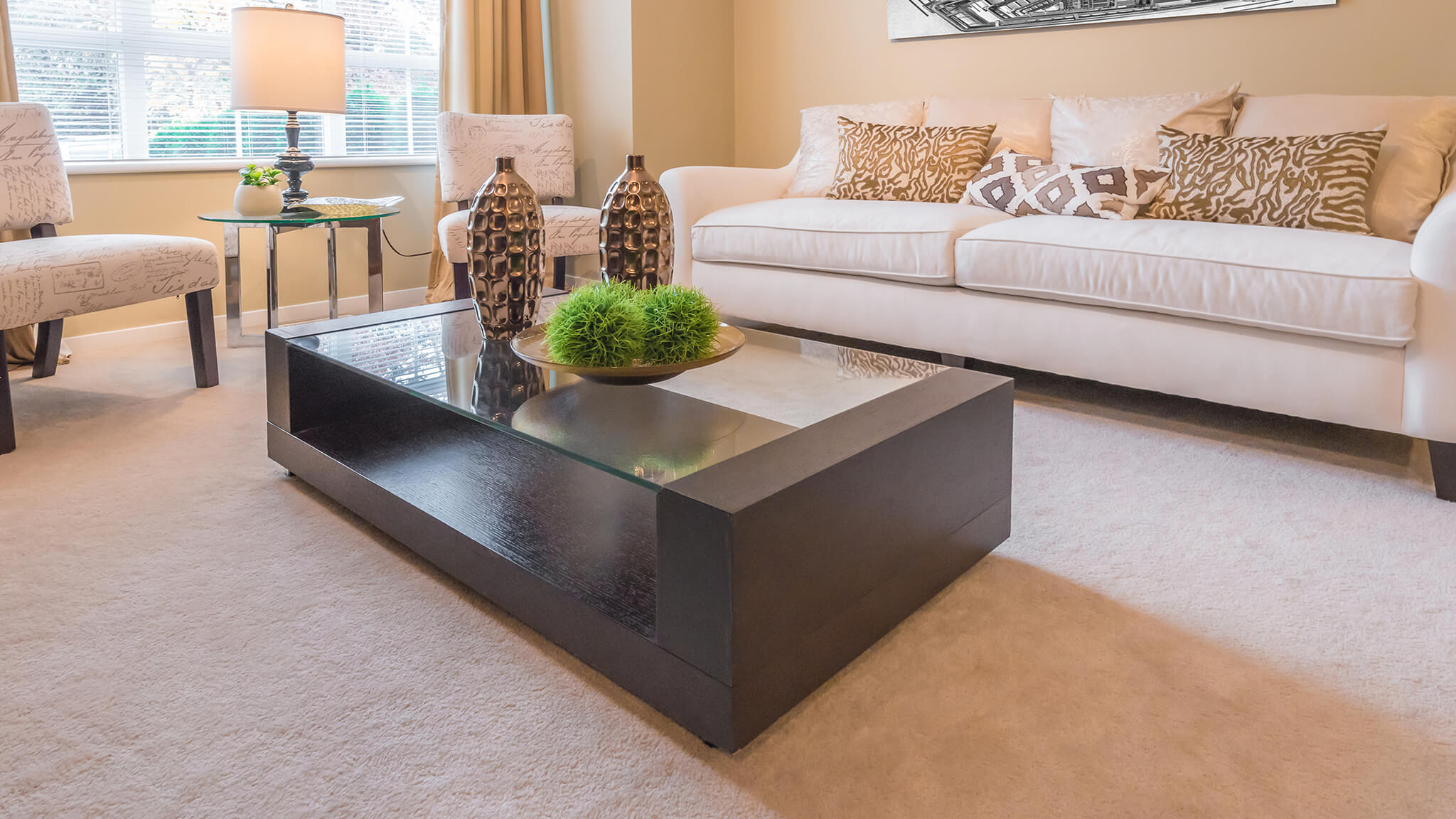 Rectangle Modern Style Glass Tabletop