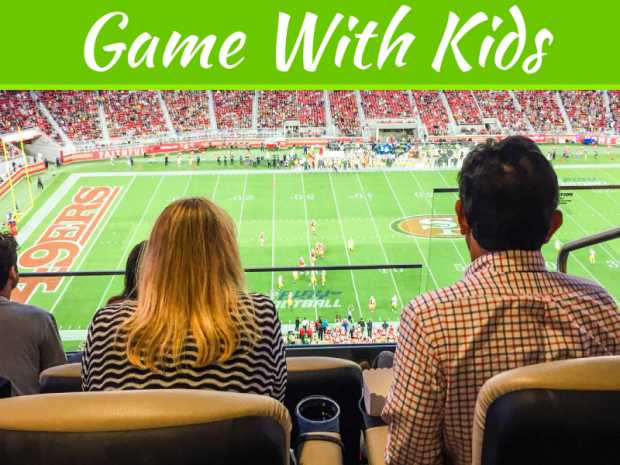 5 Things You Should Mind When Watching A Game With Kids