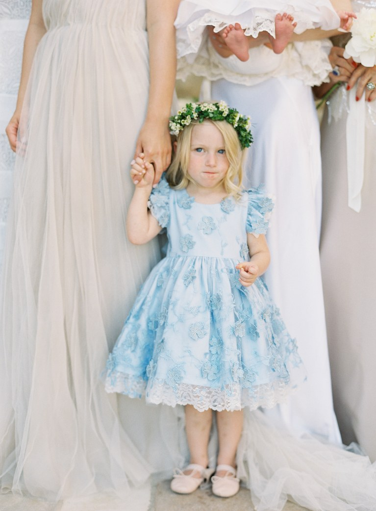 Flower Dress for Little Flower Girl