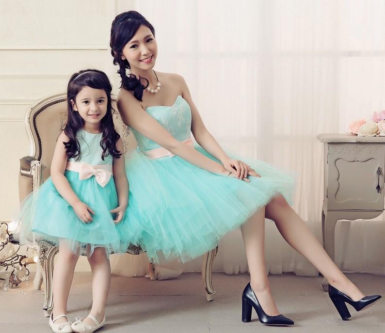 Mother and Daughter Matching Tutu Dress