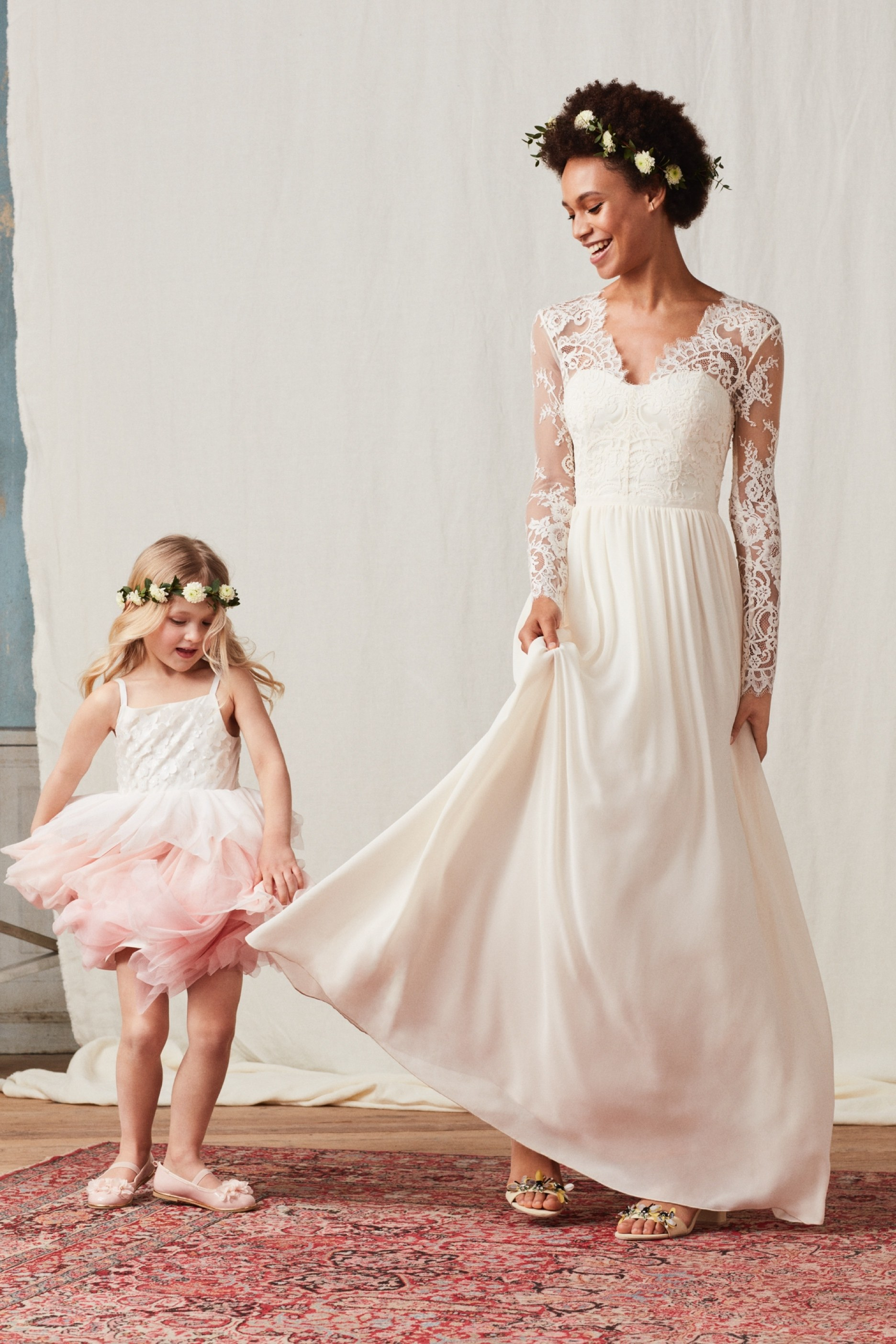 Pastel Pretty Flower Girl Dresses