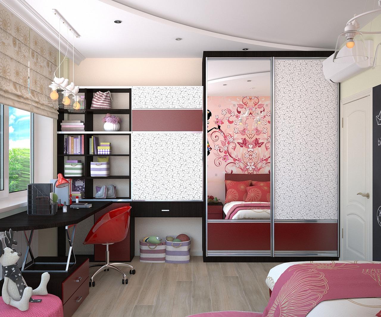 Baby Girl's Bedroom Design Ideas