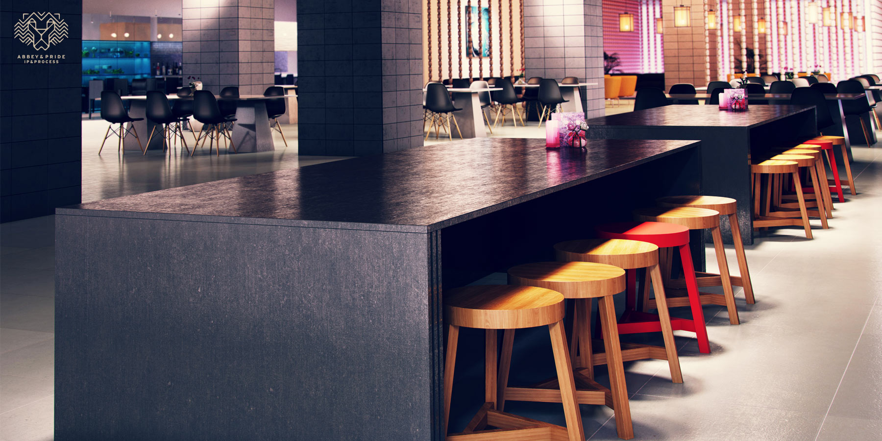 3D Bar Stool Design