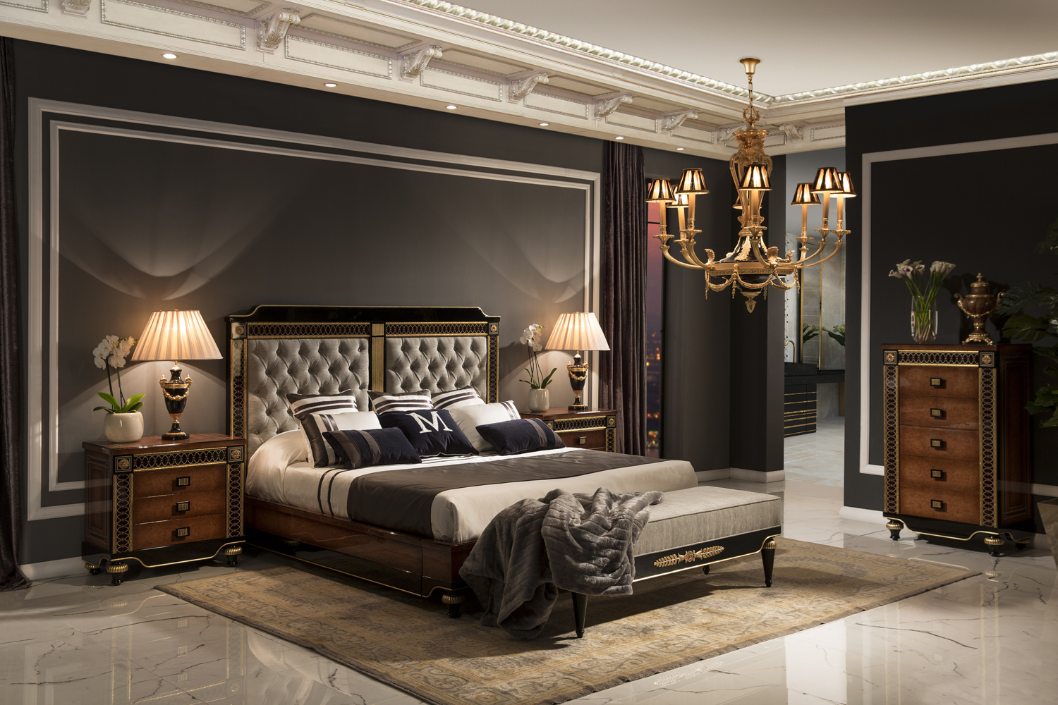 Luxurious Bedroom Lighting