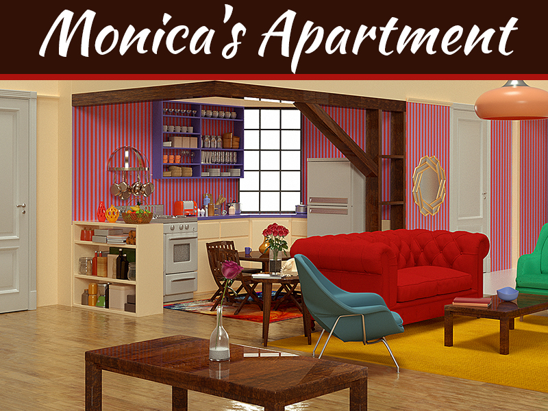 Best Friends Forever: Monica's Apartment Through The Decades