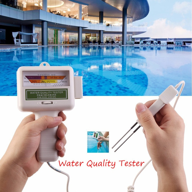 Chlorine Level Meter Water Quality Tester
