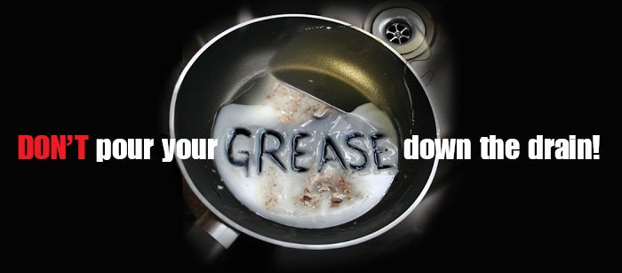Dispose Of Cooking Grease Properly