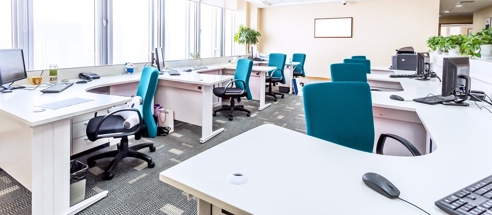Cost Efficient Open Space Office Designs