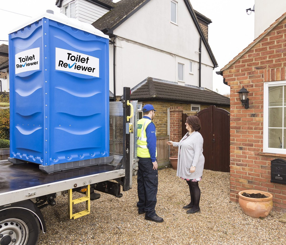 Delivery And Setting Of Portable Toilets