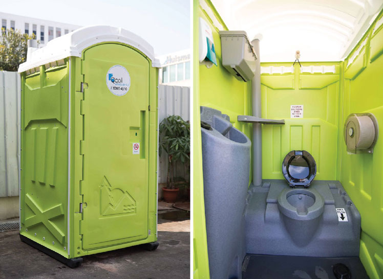 Sanitation Facility In Portable Toilets