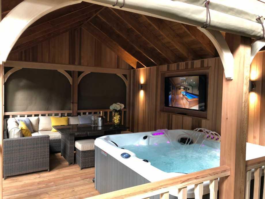 Hot Tubs Scream Luxury