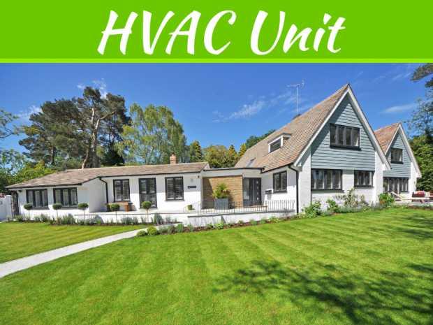 How to Landscape Around Your HVAC Unit?