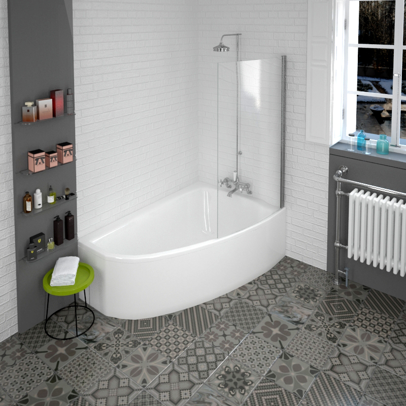 Why Corner Baths Are A Great Choice When Designing Your