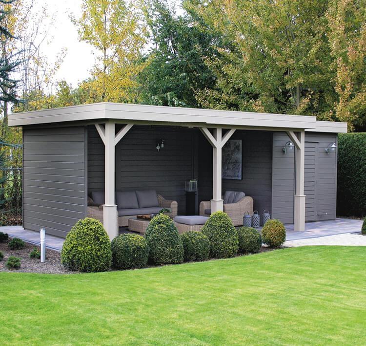 Summerhouse Log Cabin