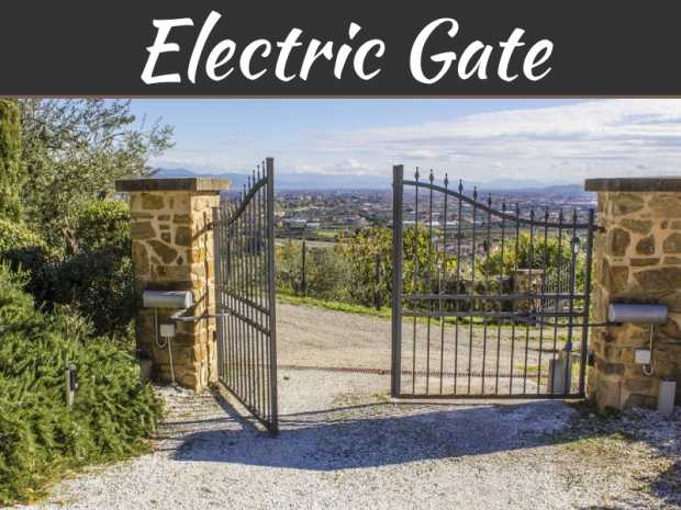 5 Things To Consider When Looking For An Electric Gate Provider