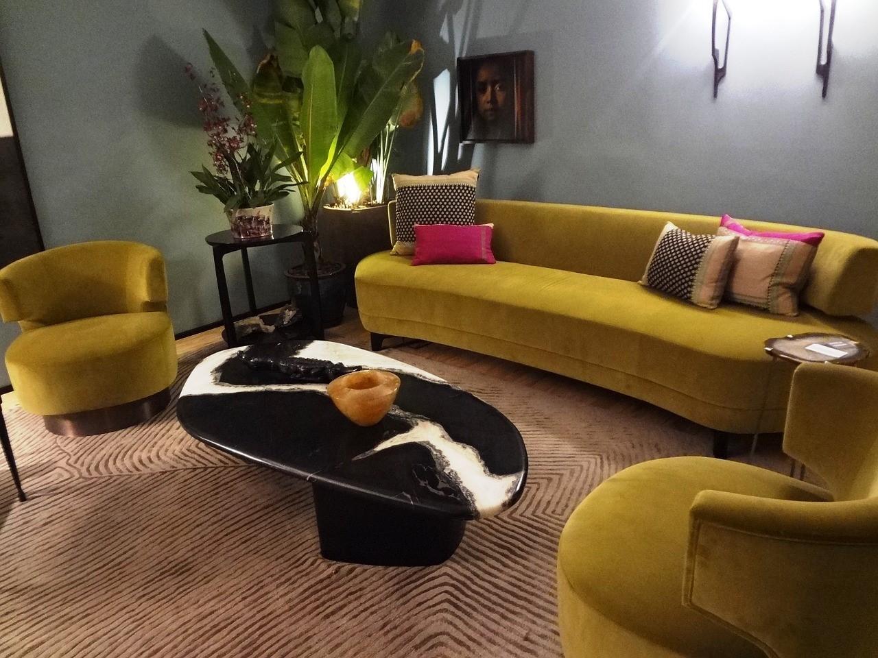 Cushion For Yellow Sofa