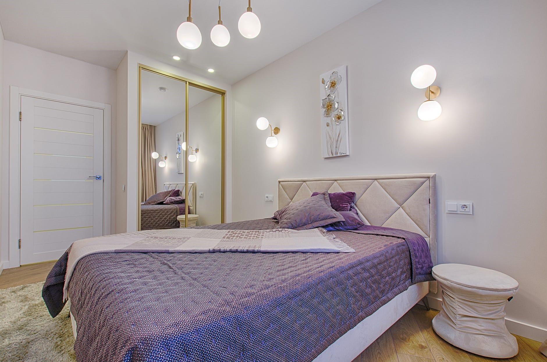 Subtle Color Bedroom