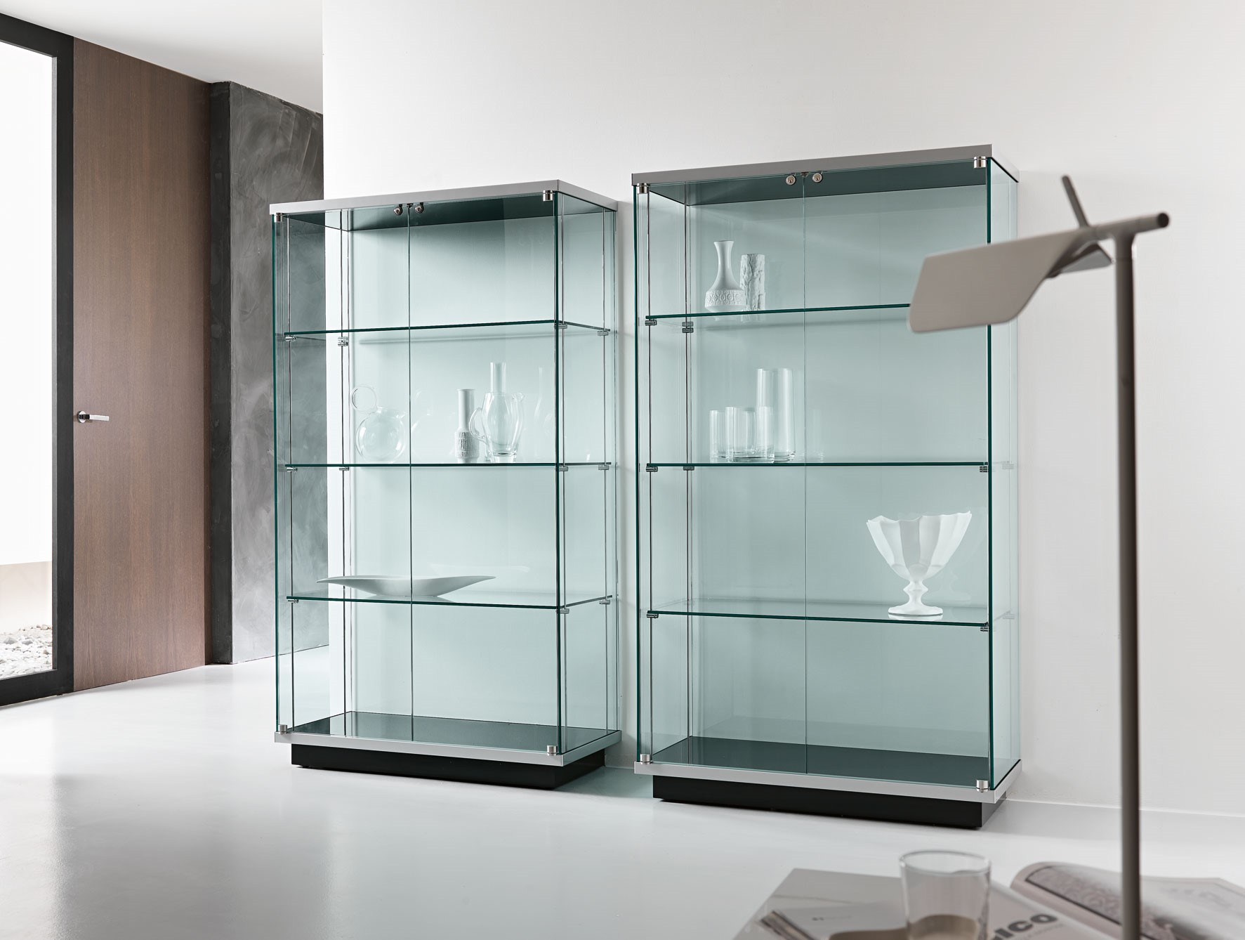 Heat Resistant Glass Cabinets