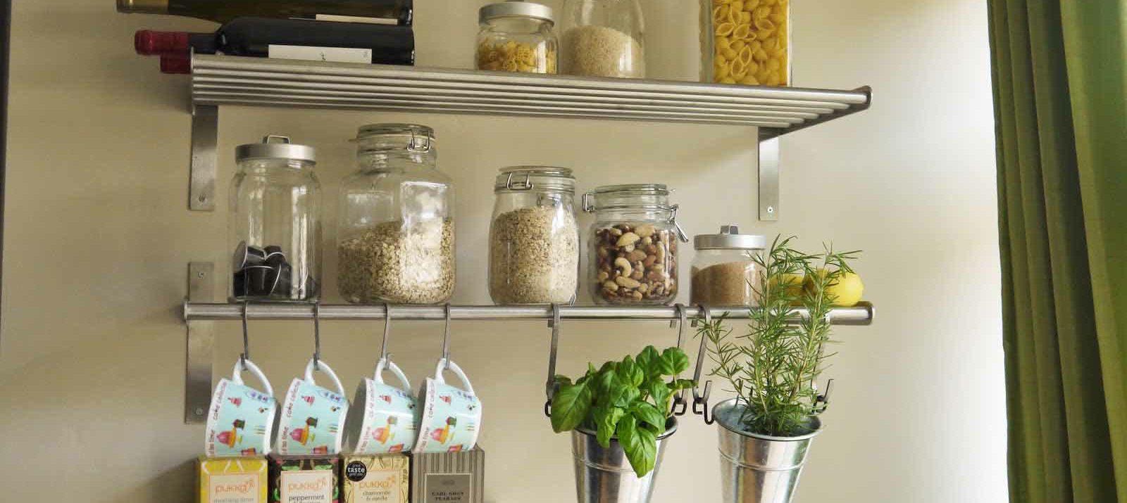 Kitchen Utilization Shelf