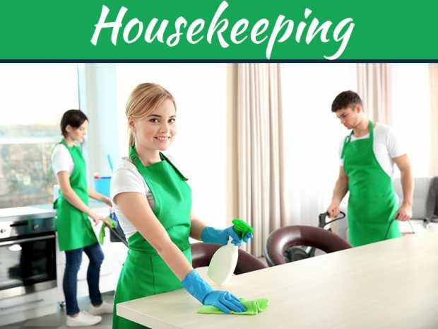 Responsibilities And Duties Of Housekeeping Services