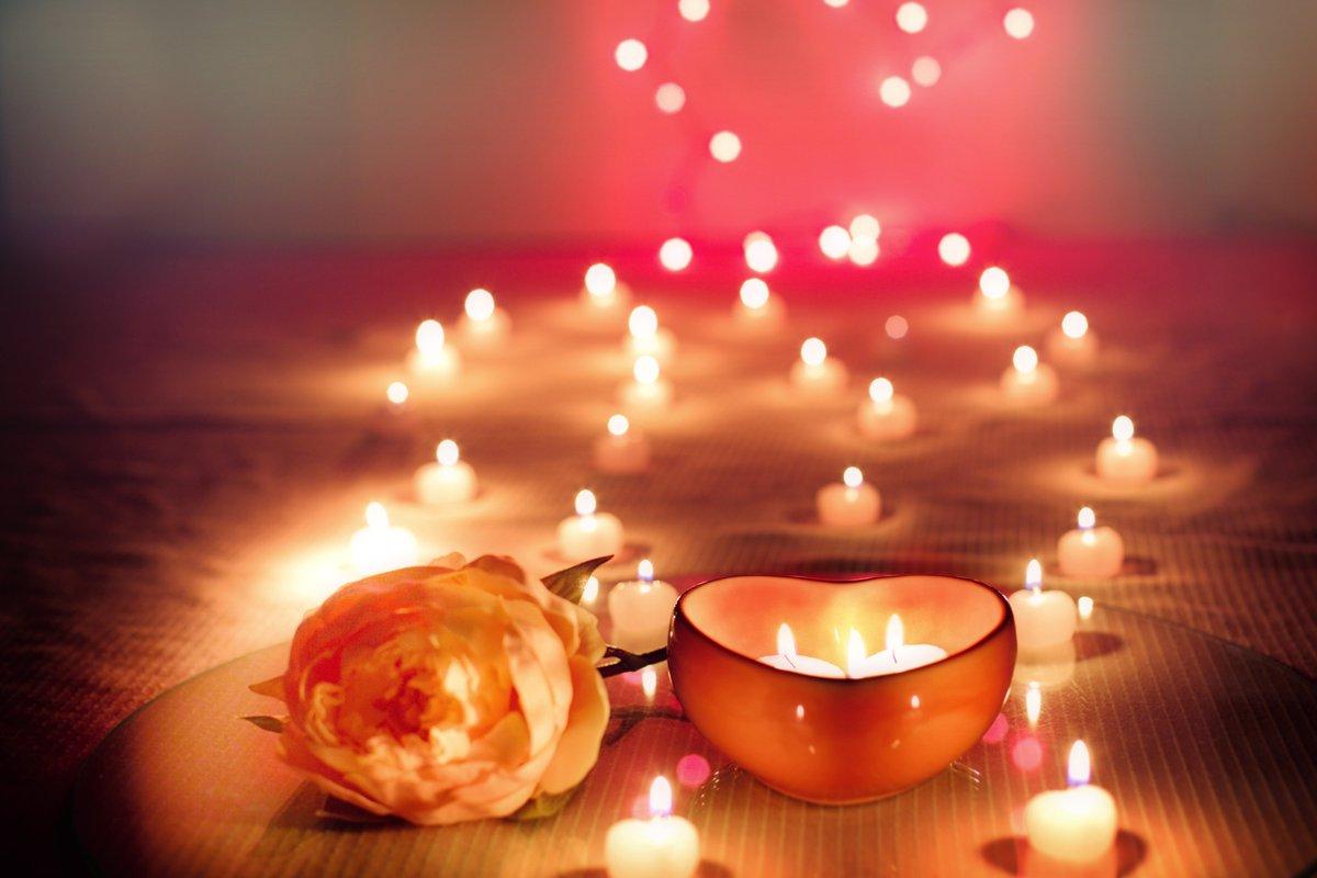 Romantic Candle Decoration