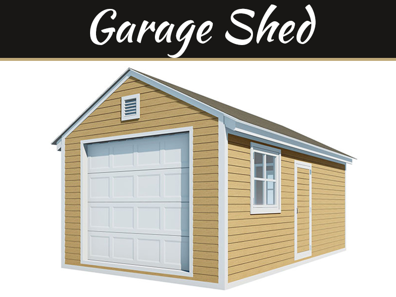 20 Useful Tips To Build Your DIY Garage Shed