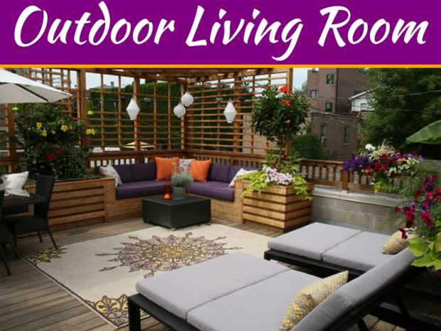 4 Tips For Creating An Outdoor Living Room