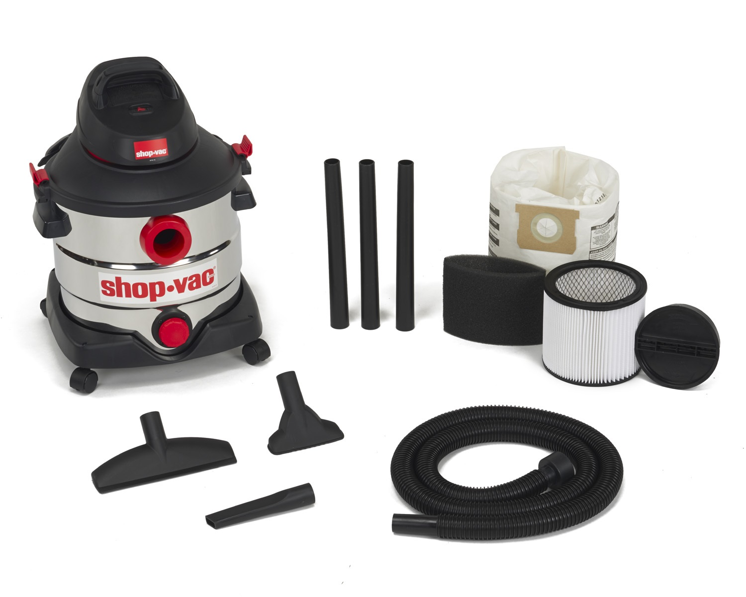 Stainless Steel Wet-Dry Vacuum