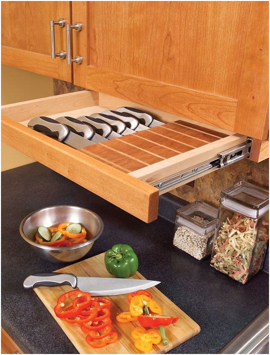 Countertop And Under Cabinet Knives Set