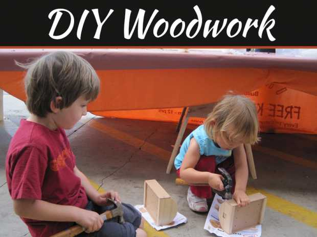DIY Woodwork Projects You Can Do With Your Kids