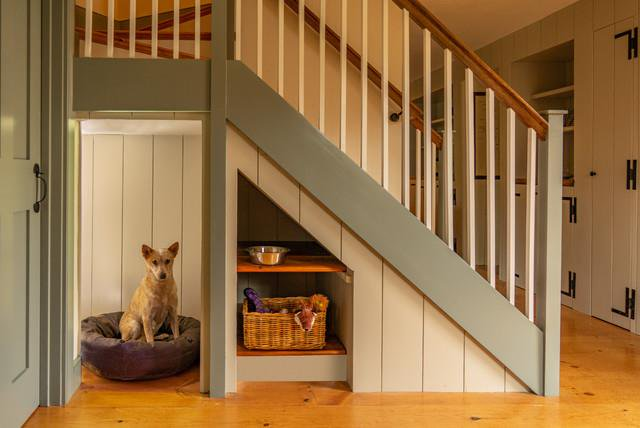 Dog's Space Under The Stairs