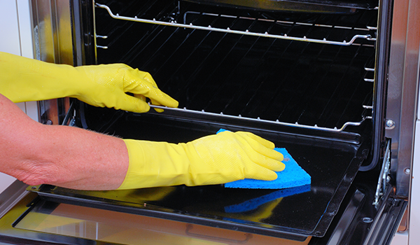 Inspect Appliances While Cleaning