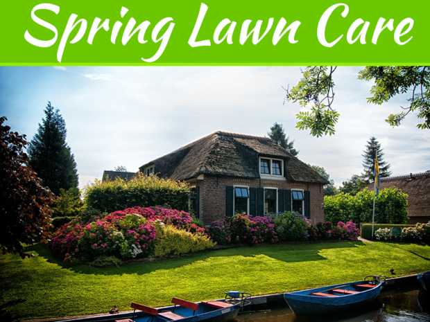 Spring Lawn Care – A Schedule That Works
