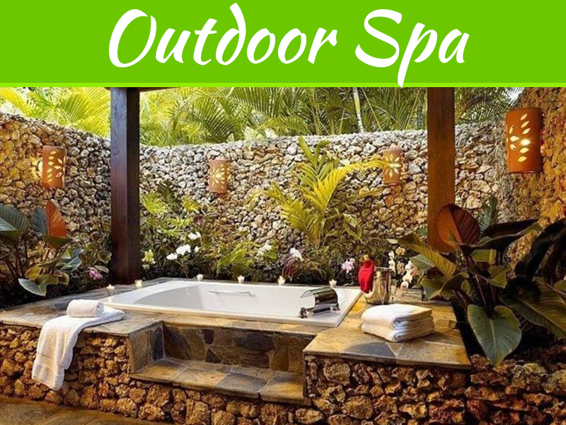 5 Tips To Create The Best Outdoor Spa For Your Garden