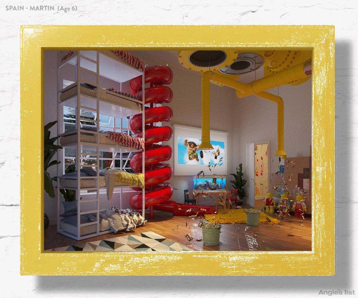 Kids Around The World Design Their Dream Bedrooms