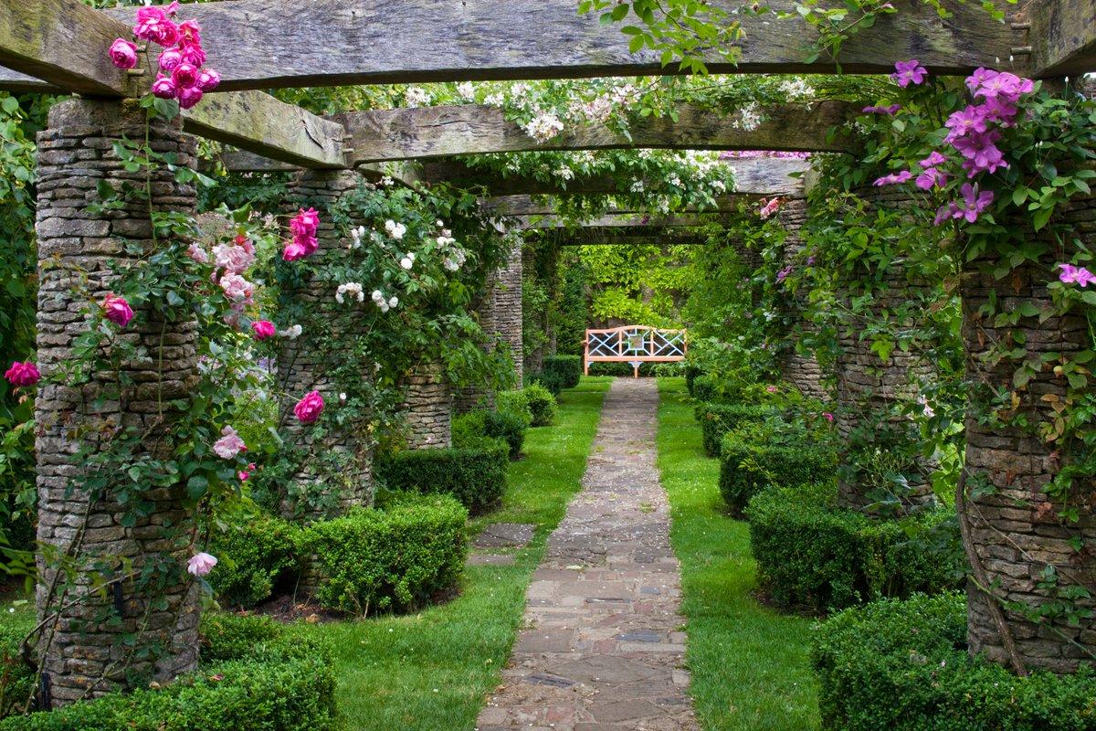 Add An Arch In Garden