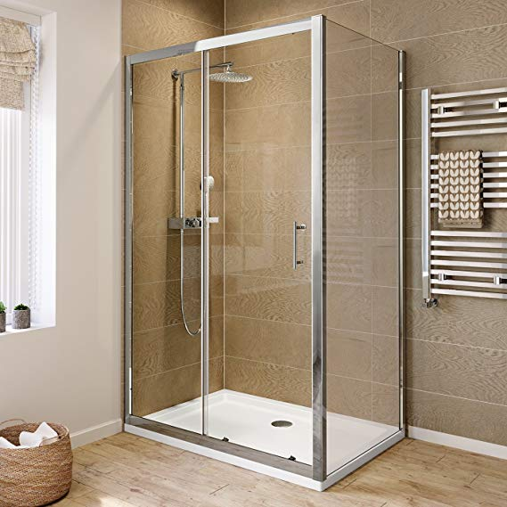 Mixing Metals Shower Doors