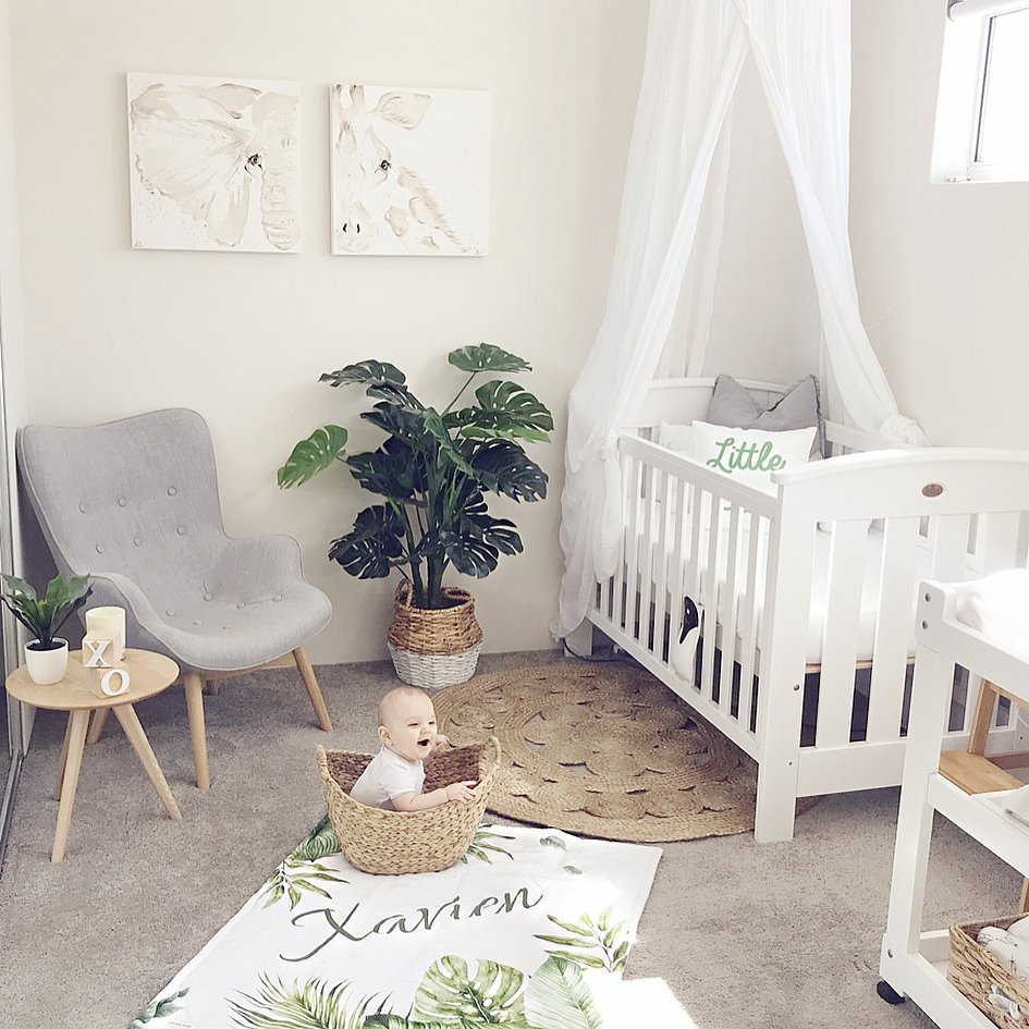 Natural Nursery Decoration Ideas