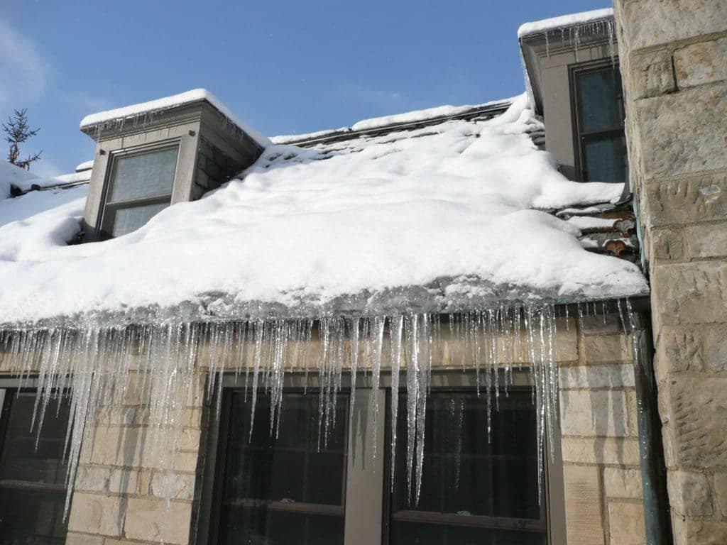 Prevent Ice Buildup