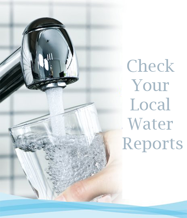 Check Your Local Water Reports