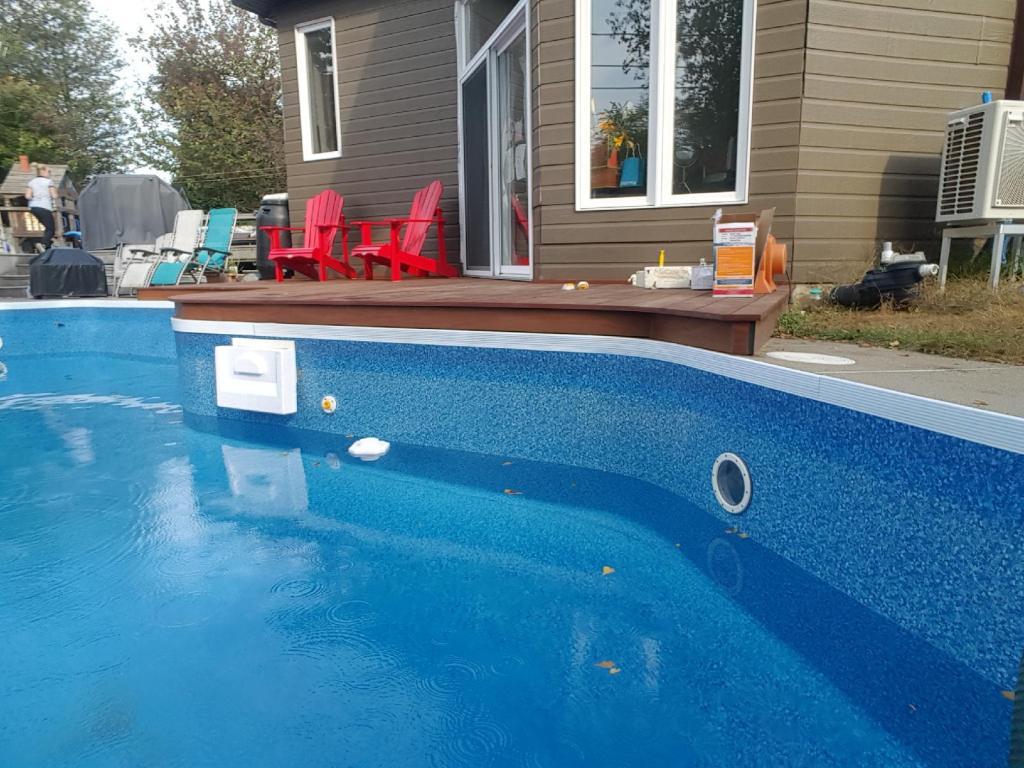 De-Winterizing Pool