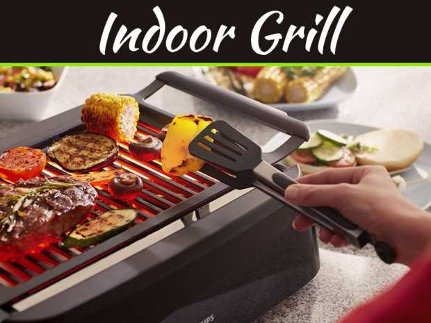 Here's How To Grill Indoors Without Spoiling Your Interior Decor