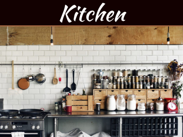 How To Keep Your Kitchen Organized: Small Kitchen Storage Ideas