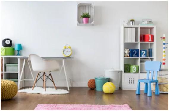 Nursery-Themed Kids Room