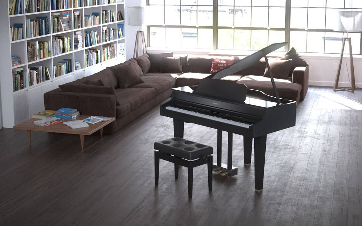Piano And Living Room Furniture