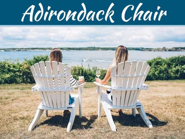 6 Reasons Why You Should Buy Your Own Adirondack Chair