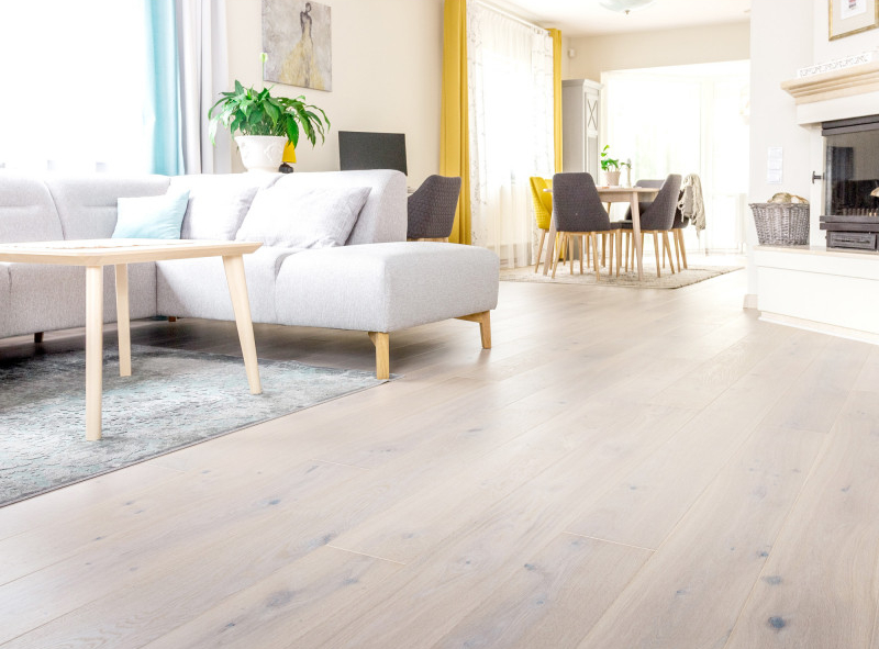 Fyfield Elite Engineered Oak White Oiled Wood Flooring